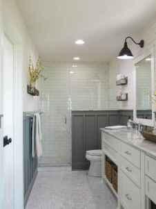 110 Supreme Farmhouse Bathroom Decor Ideas (84)