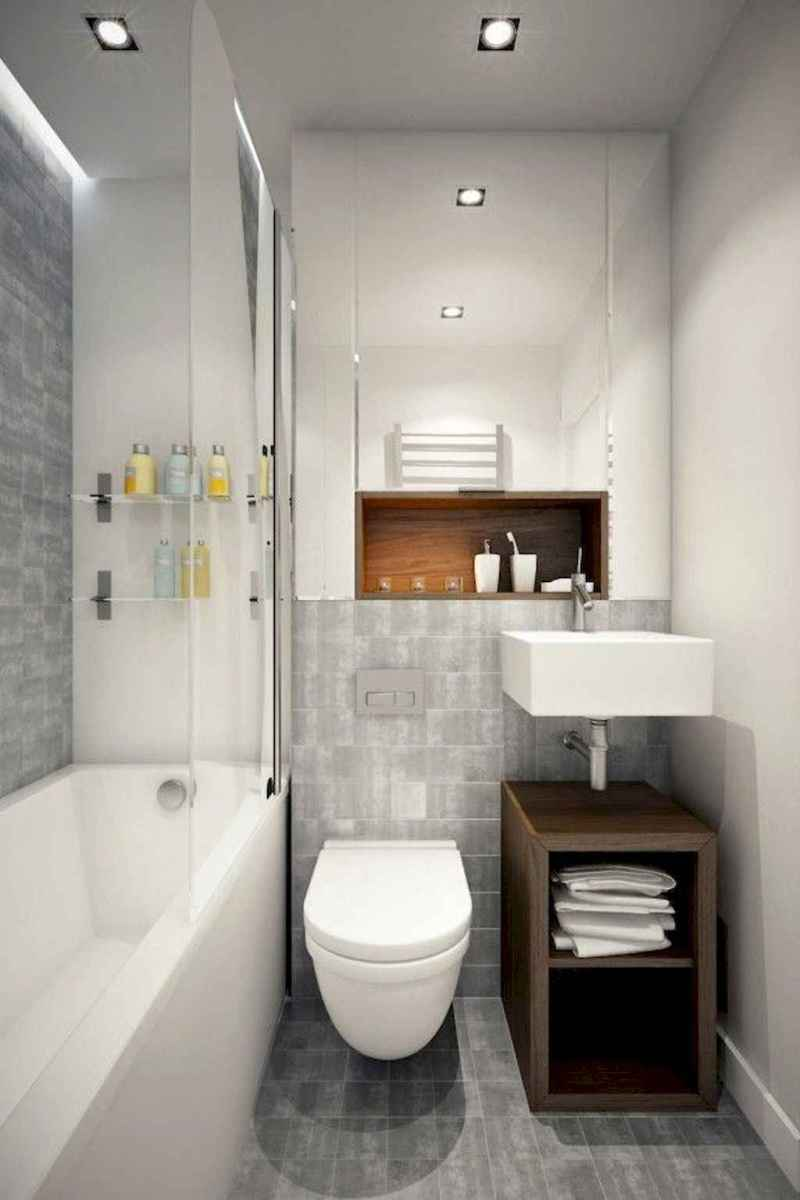 111 Best Small Bathroom Remodel On A Budget For First Apartment Ideas (29)