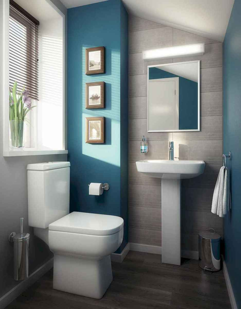 111 Best Small Bathroom Remodel On A Budget For First Apartment Ideas (40)