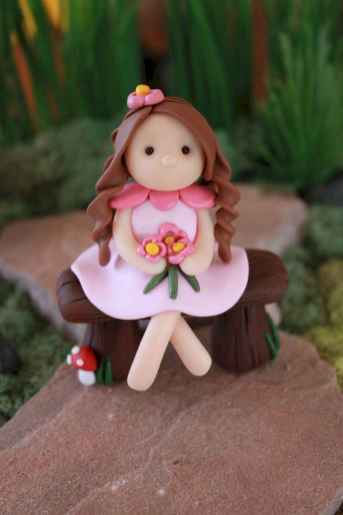 120 Easy And Simply To Try DIY Polymer Clay Fairy Garden Ideas (115)