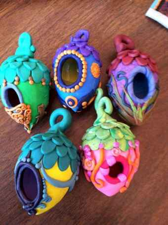 120 Easy And Simply To Try DIY Polymer Clay Fairy Garden Ideas (7)
