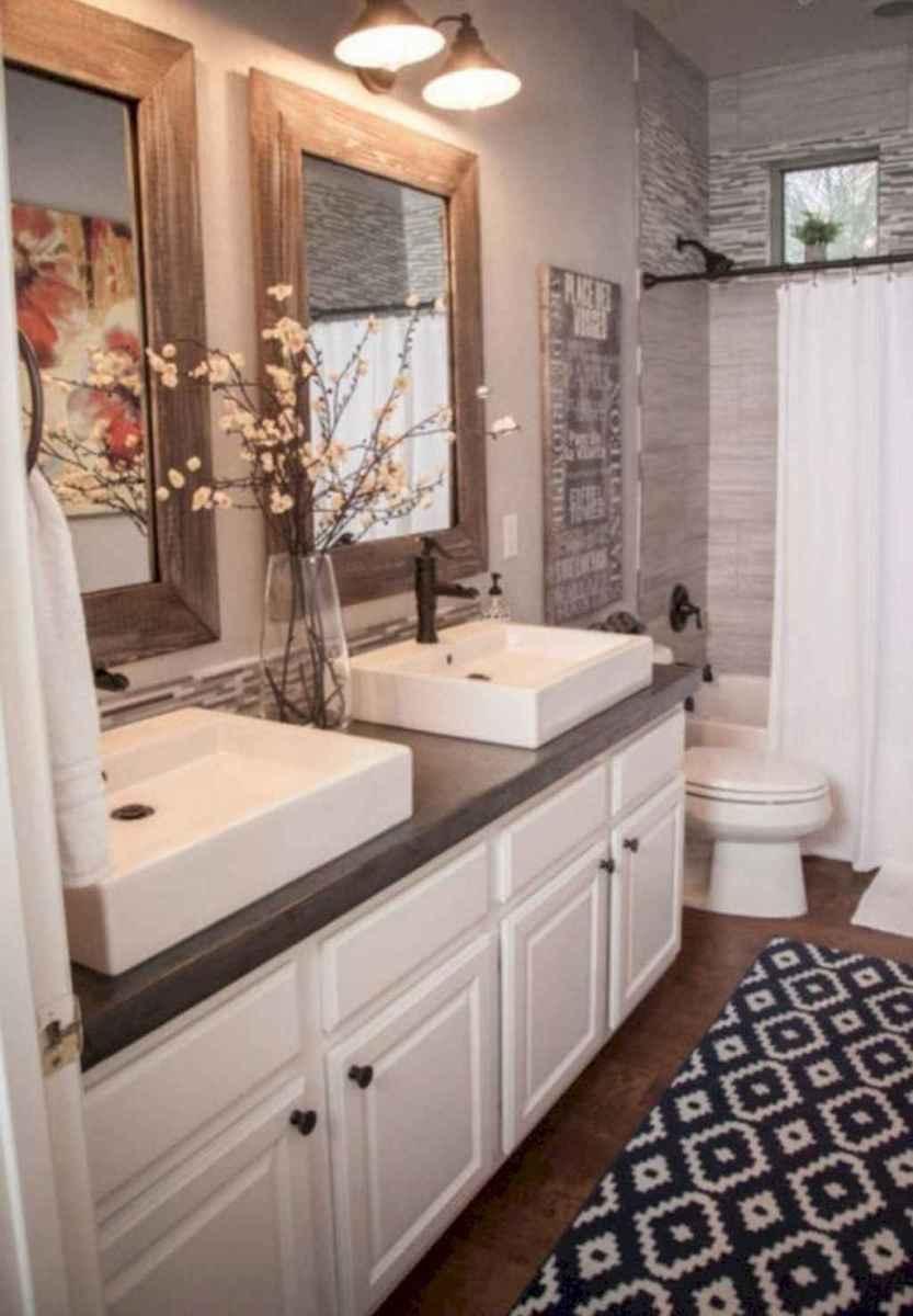 50 Stunning Farmhouse Bathroom Vanity Decor Ideas (102 ...