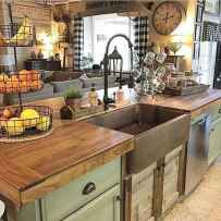 70 Best Farmhouse Kitchen Curtains Decor Ideas (27)