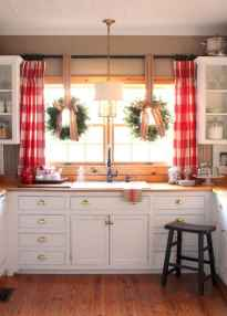 70 Best Farmhouse Kitchen Curtains Decor Ideas (33)