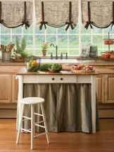 70 Best Farmhouse Kitchen Curtains Decor Ideas (42)