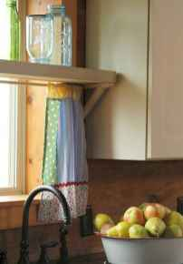 70 Best Farmhouse Kitchen Curtains Decor Ideas (45)