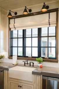 70 Best Farmhouse Kitchen Curtains Decor Ideas (57)