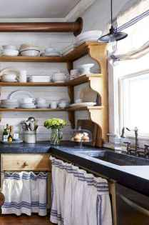 70 Best Farmhouse Kitchen Curtains Decor Ideas (70)