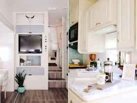 70 Brilliant RV Living Iinterior Remodel Ideas On A Budget (26)