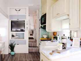 70 Brilliant RV Living Iinterior Remodel Ideas On A Budget (26)