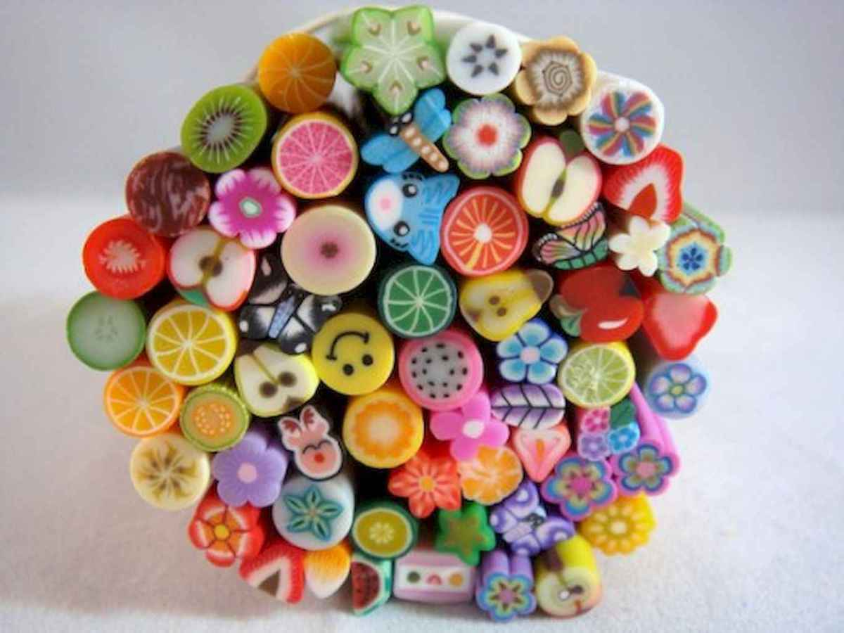 70 Easy And Simply Polymer Clay Ideas For Beginners (34)