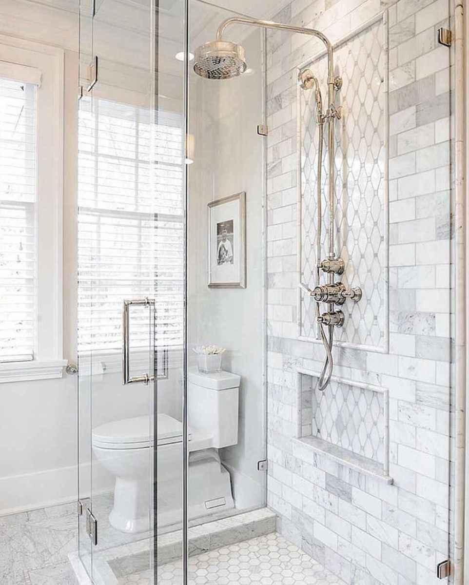 80 Best Farmhouse Tile Shower Ideas Remodel (101)