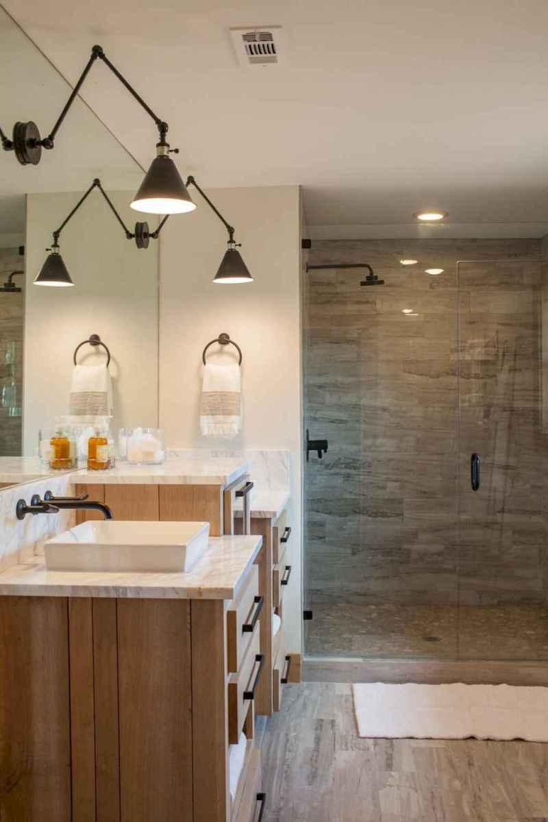 80 Best Farmhouse Tile Shower Ideas Remodel (136)