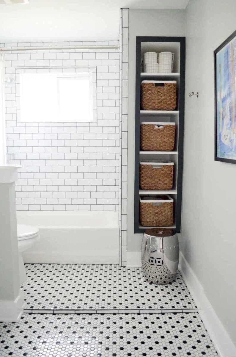 80 Best Farmhouse Tile Shower Ideas Remodel (137)