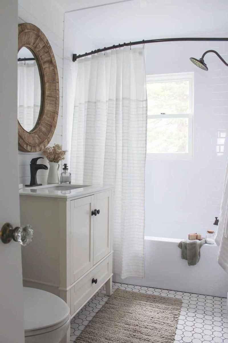 80 Best Farmhouse Tile Shower Ideas Remodel (148)