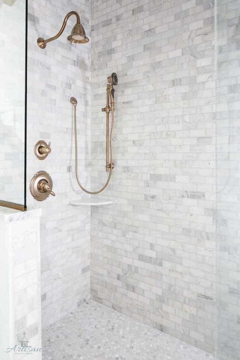 80 Best Farmhouse Tile Shower Ideas Remodel (86)