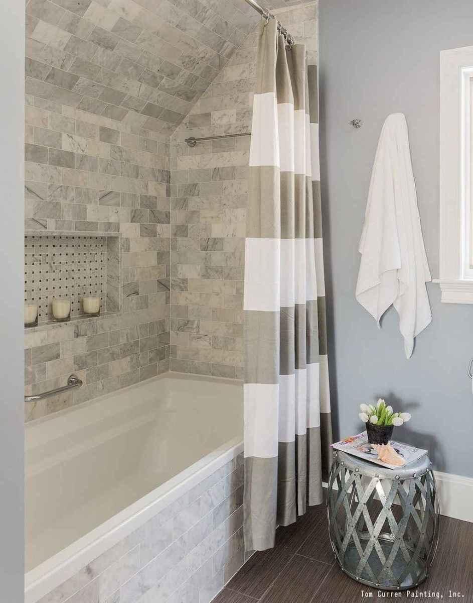 80 Best Farmhouse Tile Shower Ideas Remodel (92)
