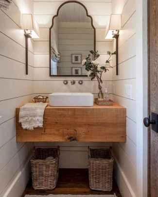 90 Awesome Lamp For Farmhouse Bathroom Lighting Ideas (13)