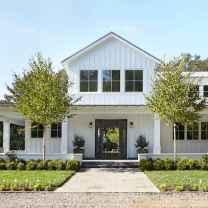 90 Awesome Modern Farmhouse Exterior Design Ideas (22)