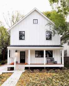 90 Awesome Modern Farmhouse Exterior Design Ideas (28)