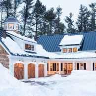 90 Awesome Modern Farmhouse Exterior Design Ideas (3)
