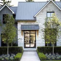 90 Awesome Modern Farmhouse Exterior Design Ideas (41)