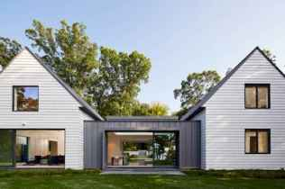 90 Awesome Modern Farmhouse Exterior Design Ideas (47)