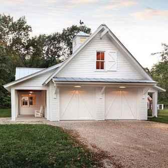 90 Awesome Modern Farmhouse Exterior Design Ideas (57)