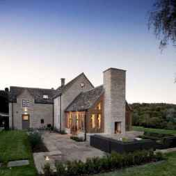 90 Awesome Modern Farmhouse Exterior Design Ideas (71)