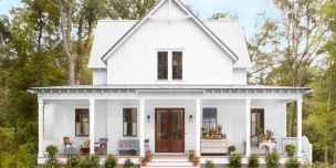 90 Awesome Modern Farmhouse Exterior Design Ideas (79)