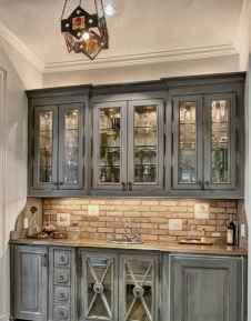 90 Best Farmhouse Kitchen Cabinet Design Ideas (105)