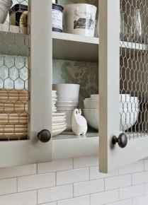 90 Best Farmhouse Kitchen Cabinet Design Ideas (106)