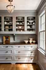 90 Best Farmhouse Kitchen Cabinet Design Ideas (117)