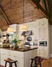 90 Best Farmhouse Kitchen Cabinet Design Ideas (121)