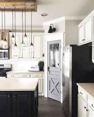 90 Best Farmhouse Kitchen Cabinet Design Ideas (165)