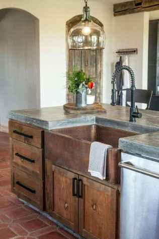 90 Best Farmhouse Kitchen Cabinet Design Ideas (177)