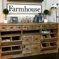 90 Best Farmhouse Kitchen Cabinet Design Ideas (96)