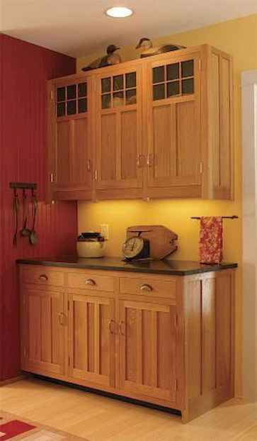 100 Supreme Oak Kitchen Cabinets Ideas Decoration For Farmhouse Style (10)