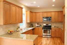 100 Supreme Oak Kitchen Cabinets Ideas Decoration For Farmhouse Style (11)