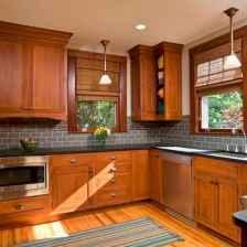 100 Supreme Oak Kitchen Cabinets Ideas Decoration For Farmhouse Style (25)