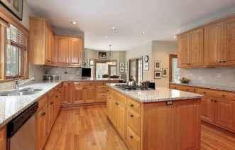 100 Supreme Oak Kitchen Cabinets Ideas Decoration For Farmhouse Style (36)