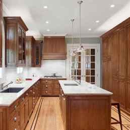 100 Supreme Oak Kitchen Cabinets Ideas Decoration For Farmhouse Style (48)