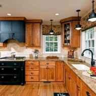 100 Supreme Oak Kitchen Cabinets Ideas Decoration For Farmhouse Style (64)