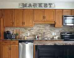 100 Supreme Oak Kitchen Cabinets Ideas Decoration For Farmhouse Style (81)