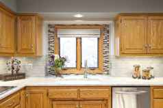 100 Supreme Oak Kitchen Cabinets Ideas Decoration For Farmhouse Style (82)