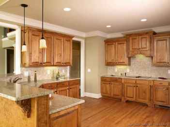100 Supreme Oak Kitchen Cabinets Ideas Decoration For Farmhouse Style (93)