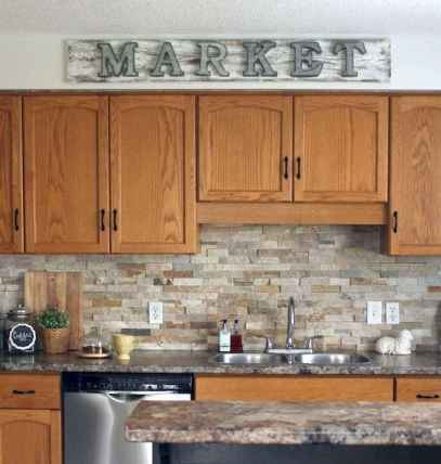 100 Supreme Oak Kitchen Cabinets Ideas Decoration For Farmhouse Style (95)