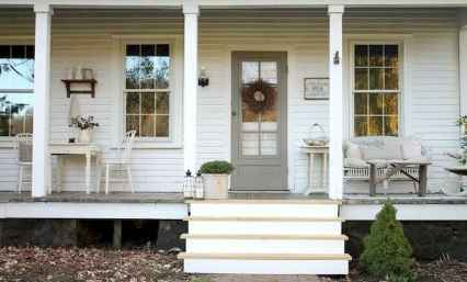 110 Beautiful Farmhouse Porch Decor Ideas (15)