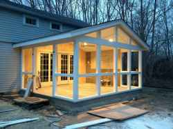 110 Beautiful Farmhouse Porch Decor Ideas (40)