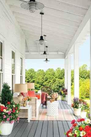 110 Beautiful Farmhouse Porch Decor Ideas (56)